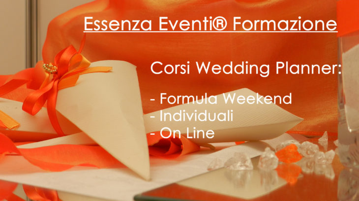 essenza eventi corsi di Wedding Planner