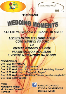WEDDING MOMENTS 26 GENNAIO 2013