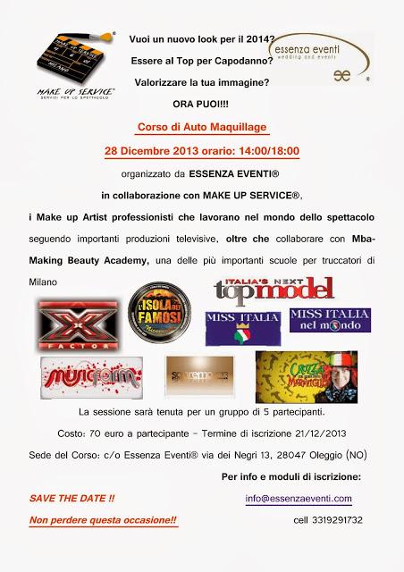 ESSERE AL TOP CON I MAKE UP ARTIST DELLO SPETTACOLO CORSO AUTO-MAQUILLAGE