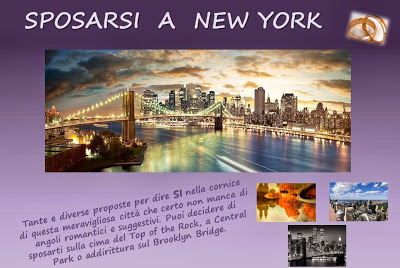 SPOSARSI A NEW YORK
