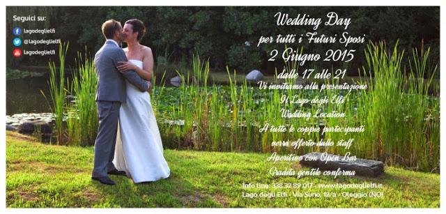 Wedding day 2 Giugno 2015 al lago degli Elfi