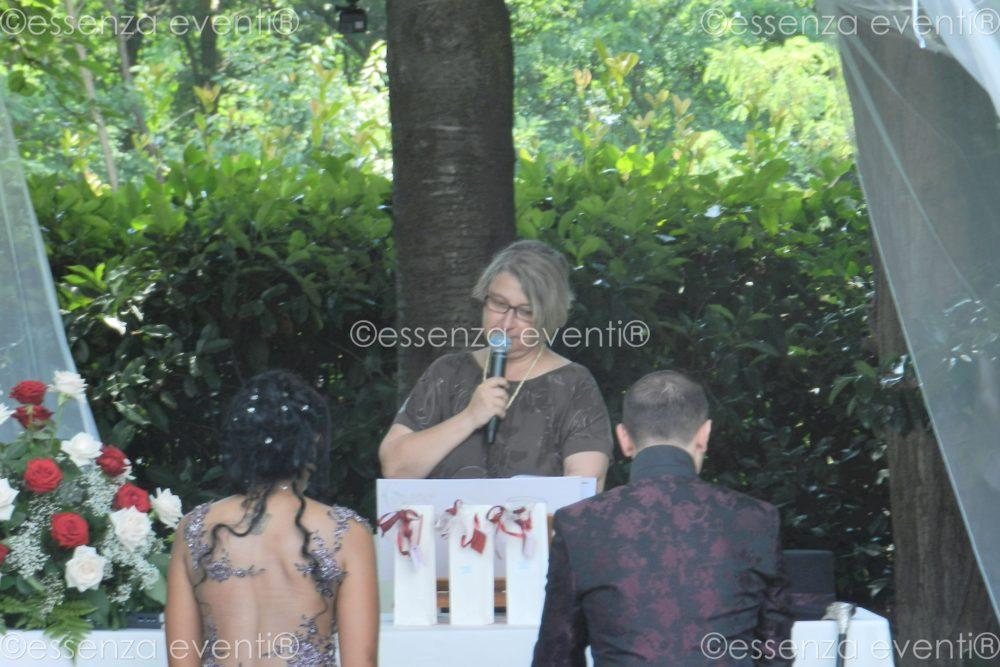 Cerimonia Alessandro e Karina Celebrante Essenza Eventi