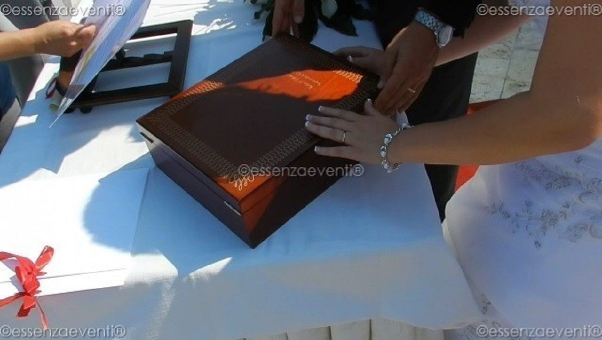 Love letters and Wine Box ceremony