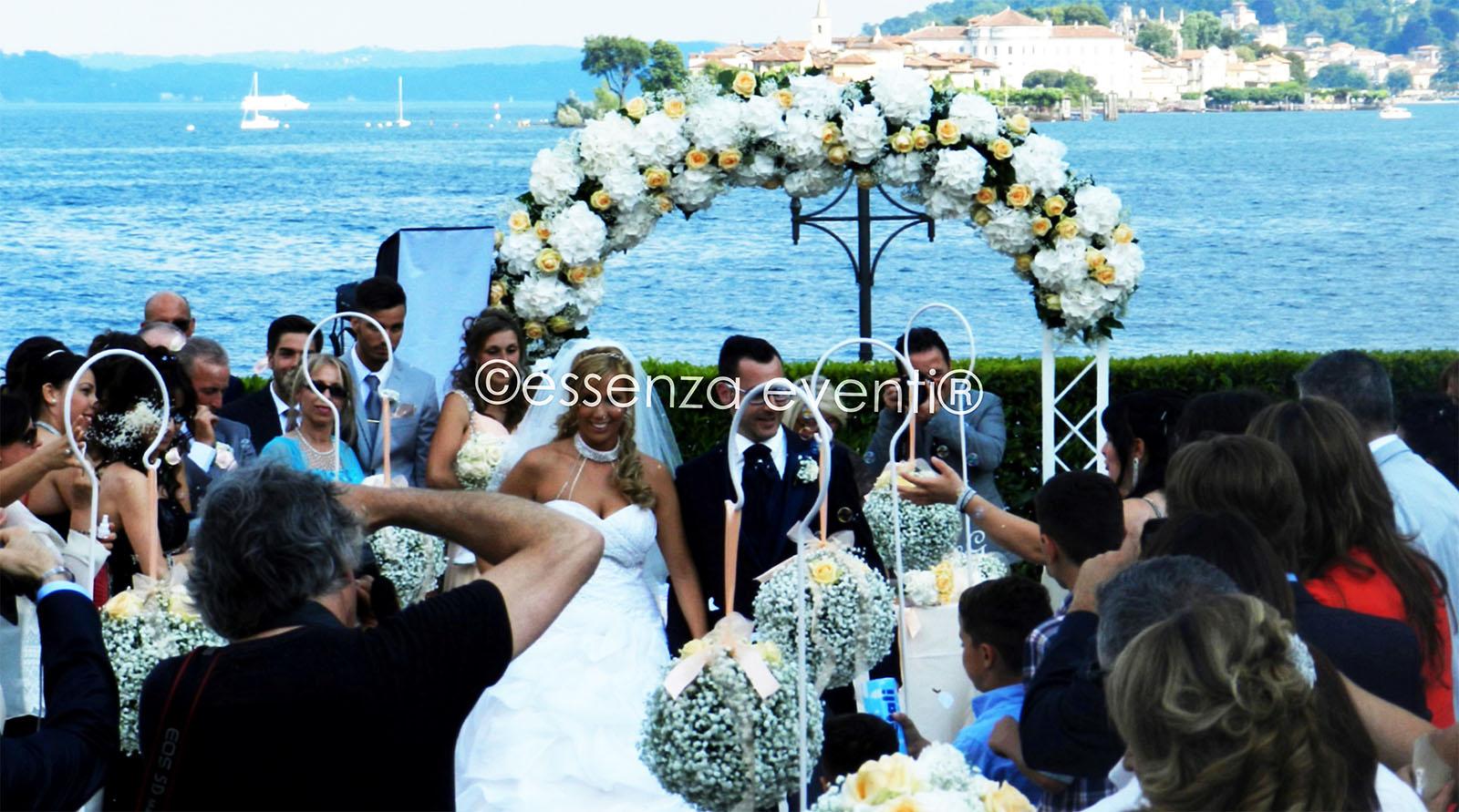 Essenza Eventi® Celebrante Cerimonia Simbolica Grand Hotel Dino Baveno