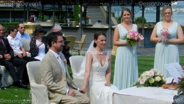 Essenza Eventi® Celebrant for Symbolic Wedding I&K Hotel Dino _Baveno