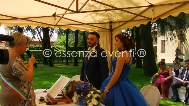 Celebrante Cerimonia Simbolica Simone Cristina a villa gaia Gandini