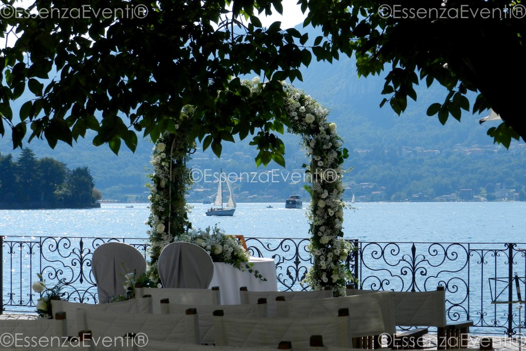 Symbolic Wedding Ceremony at Lake Orta