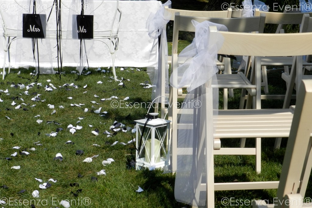 Essenza Eventi® Addobbi ed allestimenti Black and white