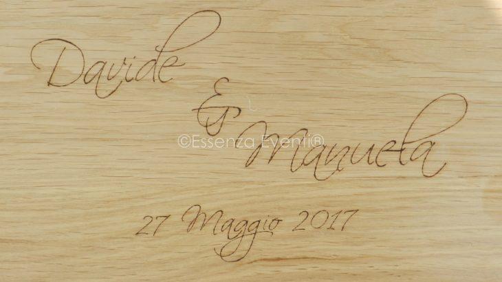 Rito Civile Legale e Love Letters and Wine Box Ceremony (