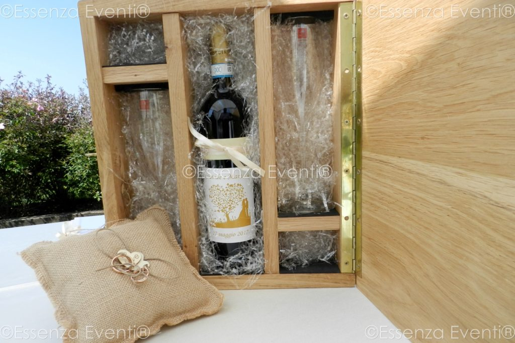 Rito Civile Legale e Love Letters and Wine Box Ceremony