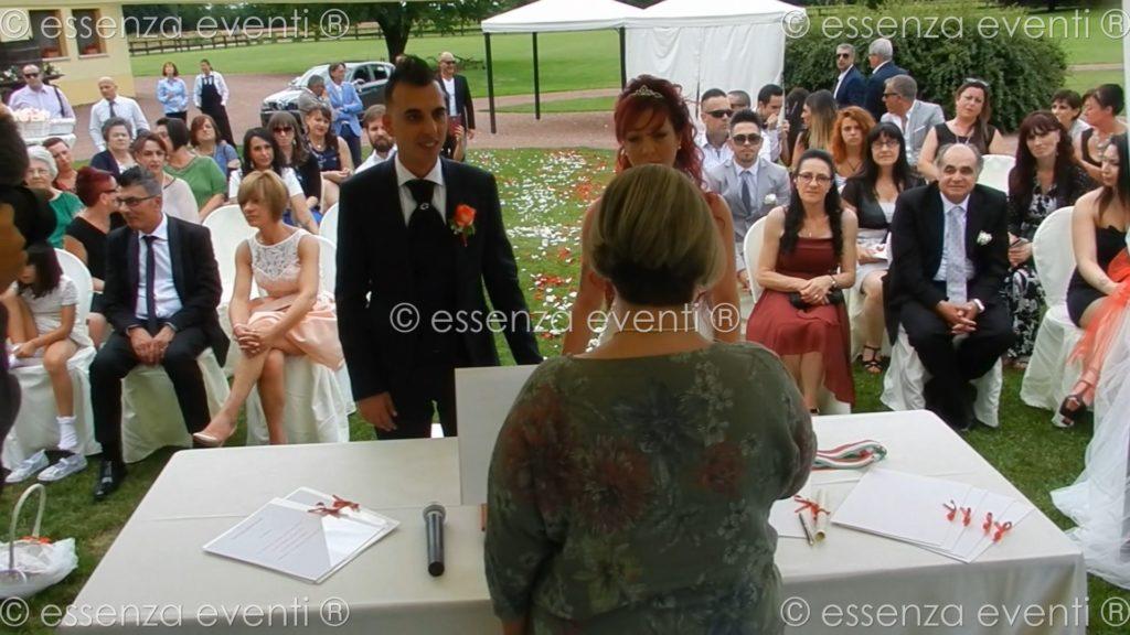 La cerimonia di Anna e Cristian