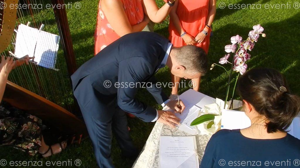 Rito della Sabbia Sand Ceremony Simone e Steven