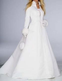 abito sposa matrimoni d'inverno