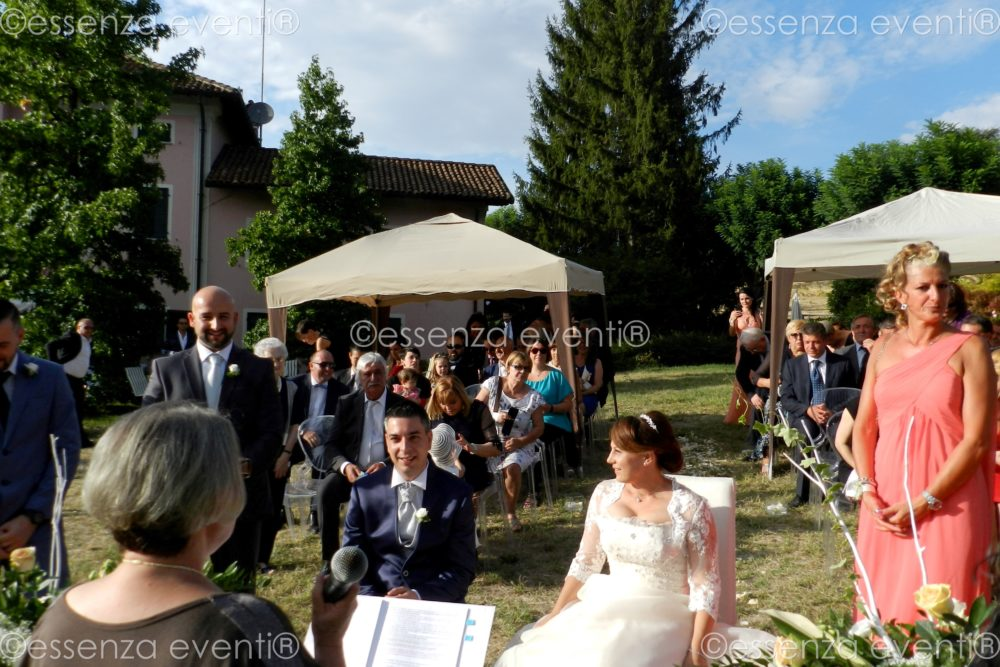 Cerimonia simbolica Fabio e Silvia Essenza Eventi Celebrante