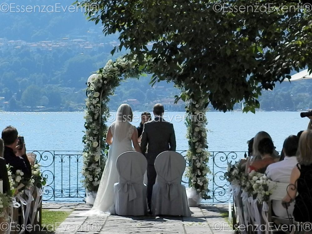 Essenza Eventi Celebrant Symbolic Wedding Ceremony Lago di Orta