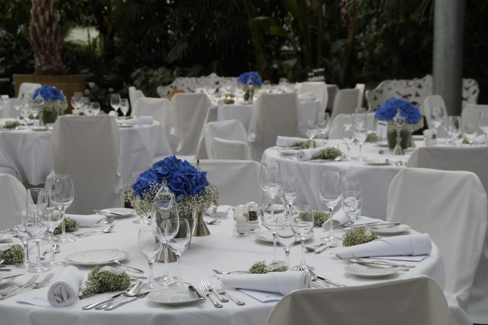 wedding catering and banqueting