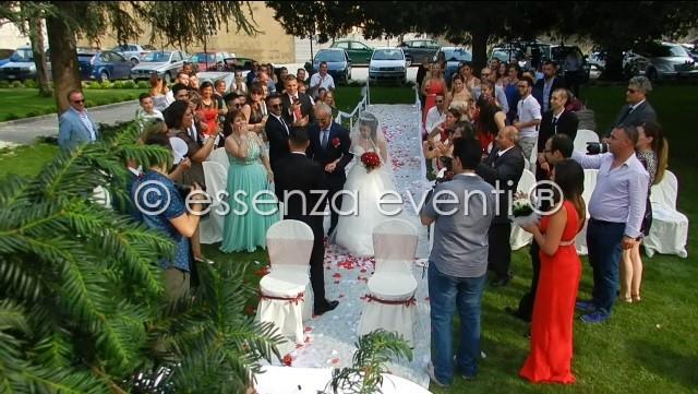 L'entrata della Sposa accolta dagli applausi